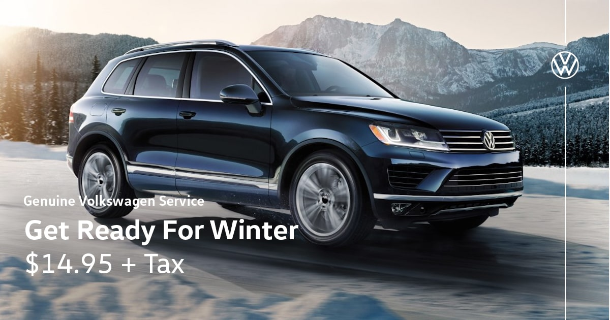 Volkswagen Get Ready for Winter Service Special Coupon