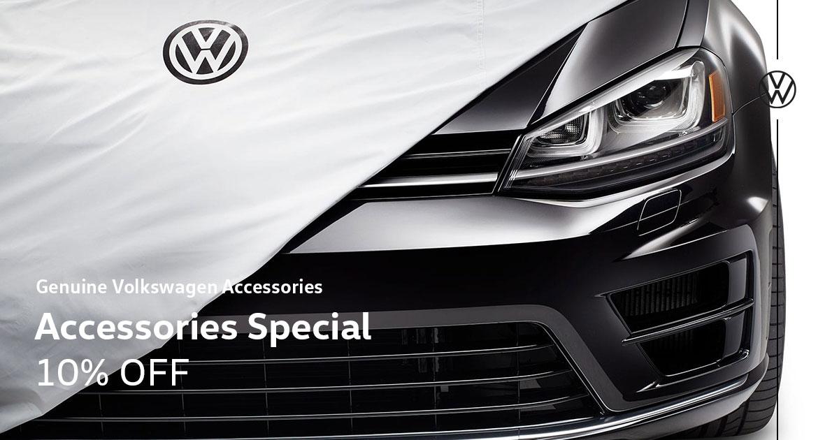 Volkswagen Accessories Special Coupon