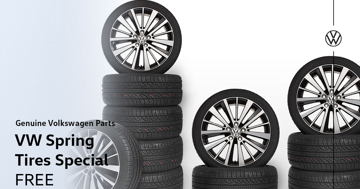 Volkswagen Spring Tires Special Coupon