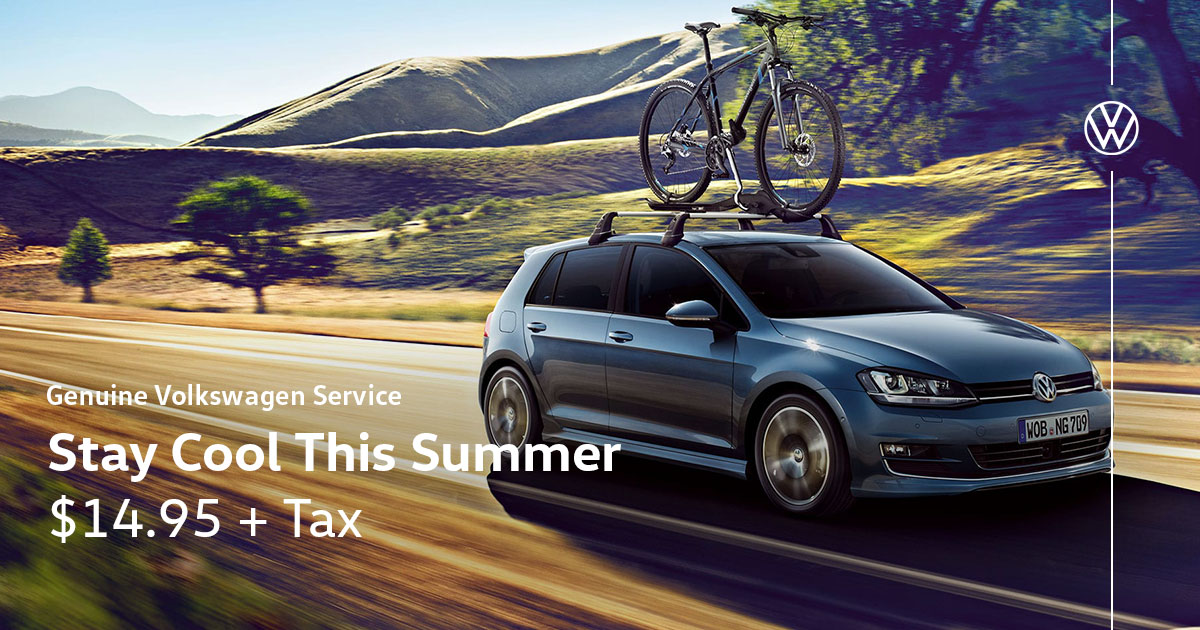 Volkswagen Get Ready for Spring Service Special Coupon