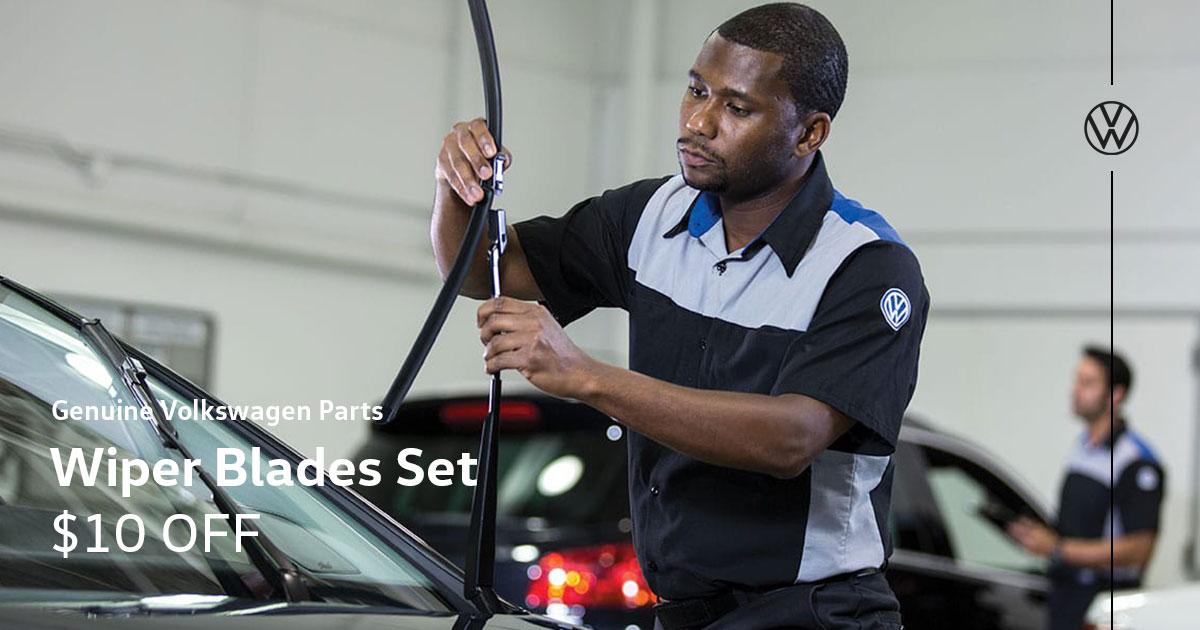 Volkswagen Wiper Blades Set Special Coupon
