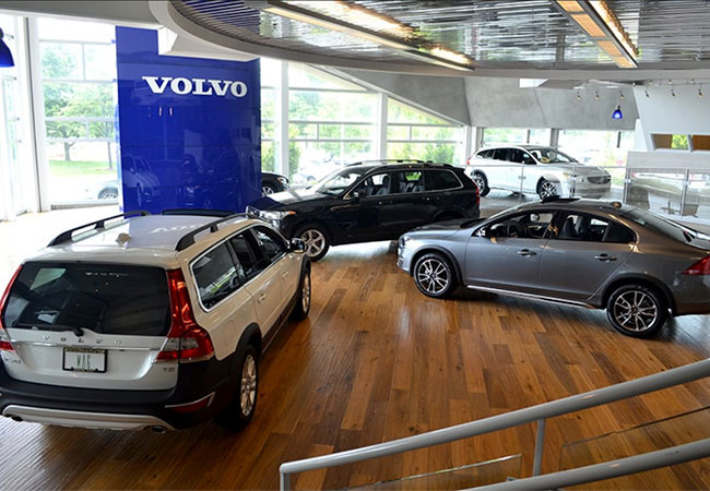 MAG Volvo Cars Dublin Showroom