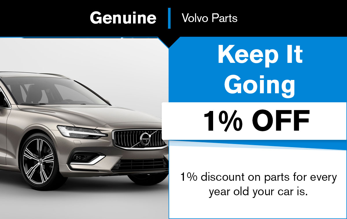 Volvo Parts Special Coupon