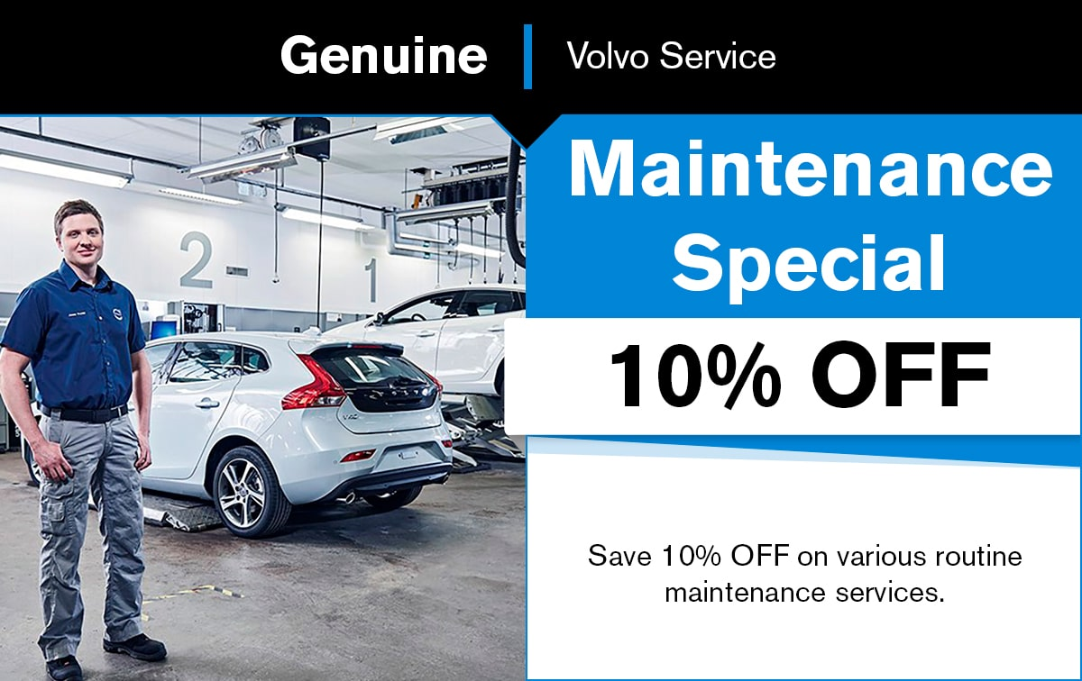 Volvo Maintenance Special Coupon