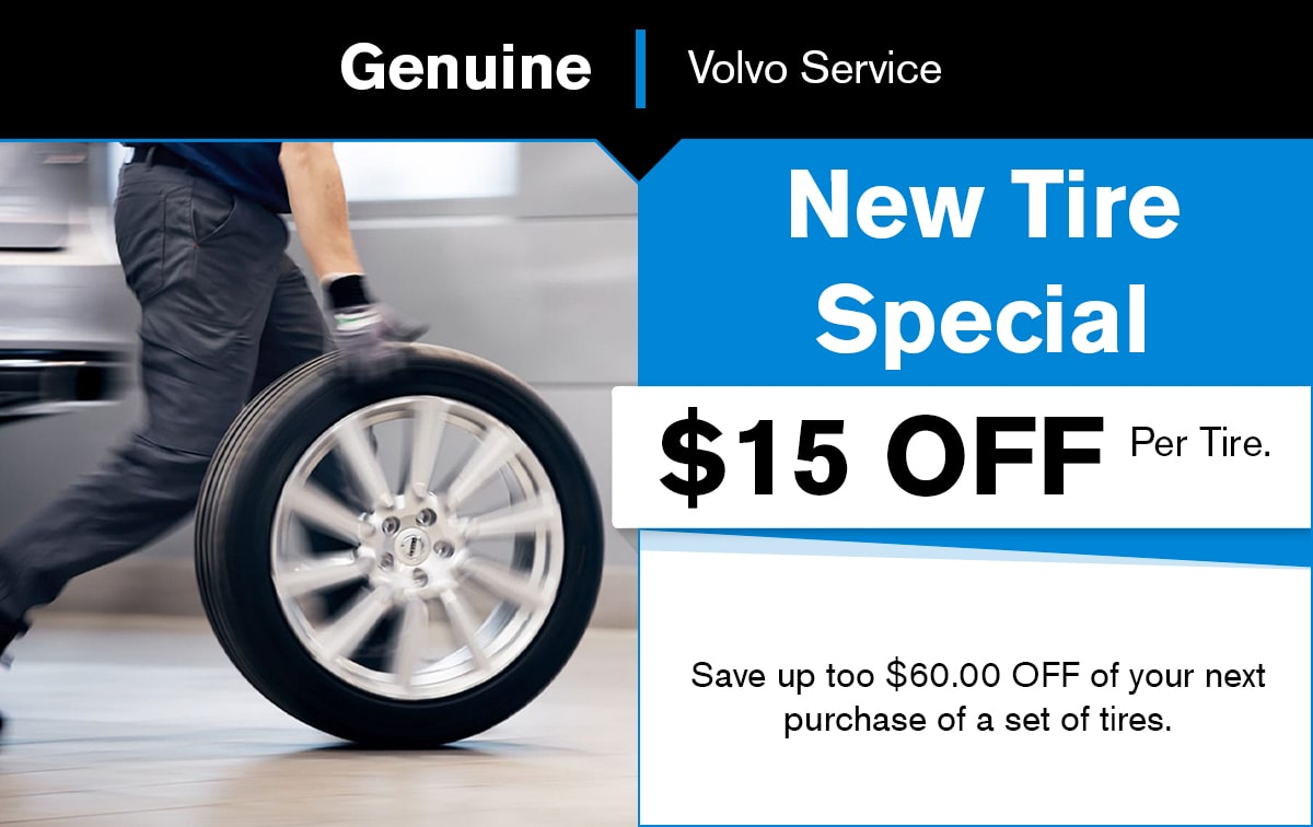 Volvo New Tire Special Coupon