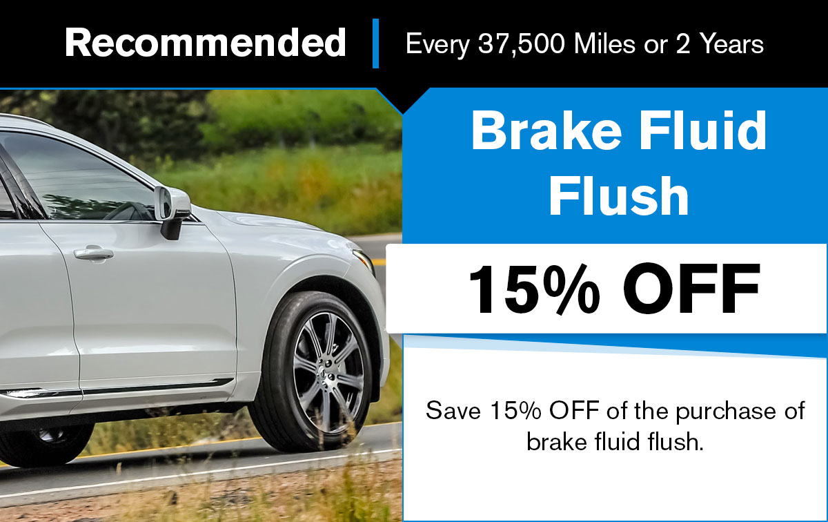 Volvo Brake Fluid Flush Service Special Coupon