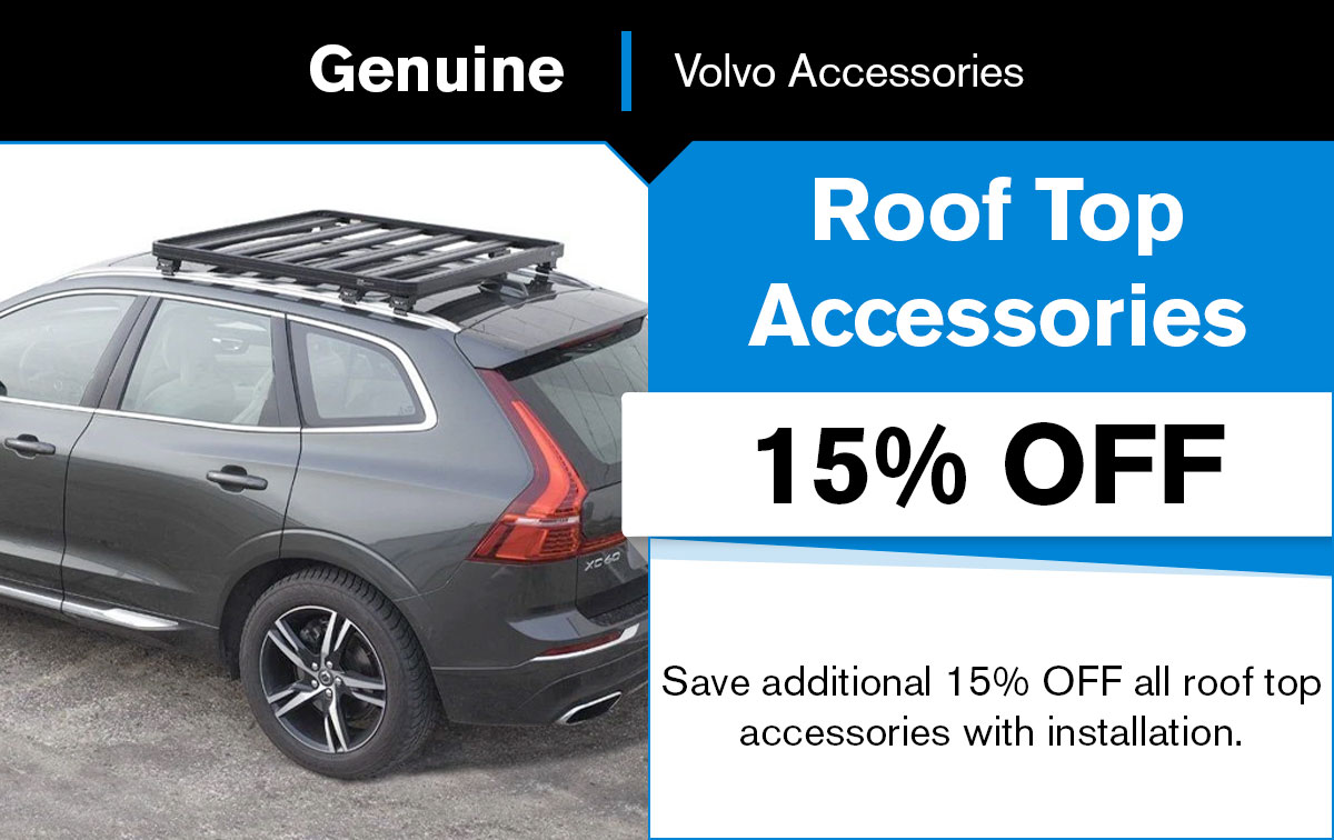 Volvo Roof Top Accessories Special Coupon