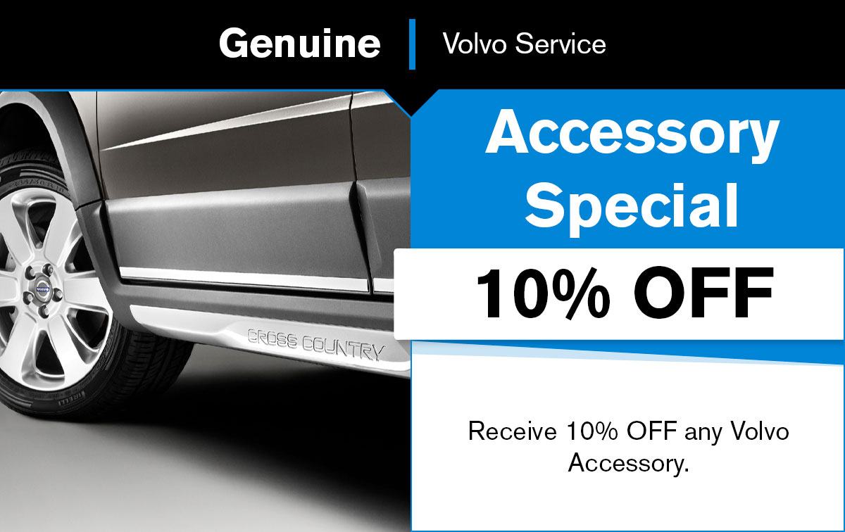Volvo Accessory Special Coupon