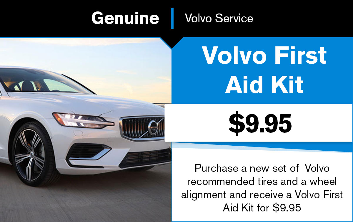 Volvo First Aid Kit Service Special Coupon