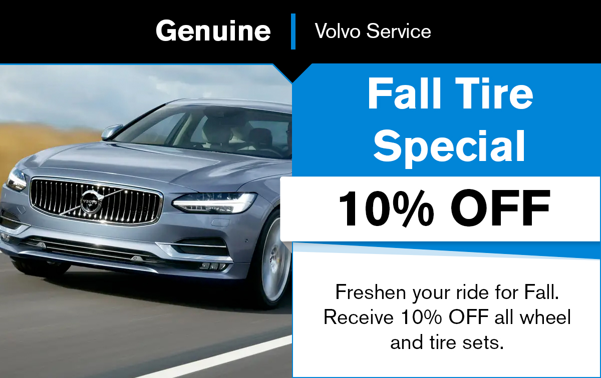 Volvo Fall Special Coupon