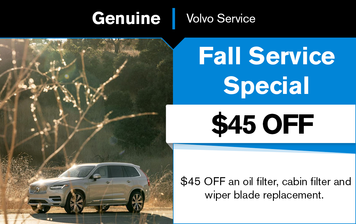 Volvo Fall All Service Special Coupon