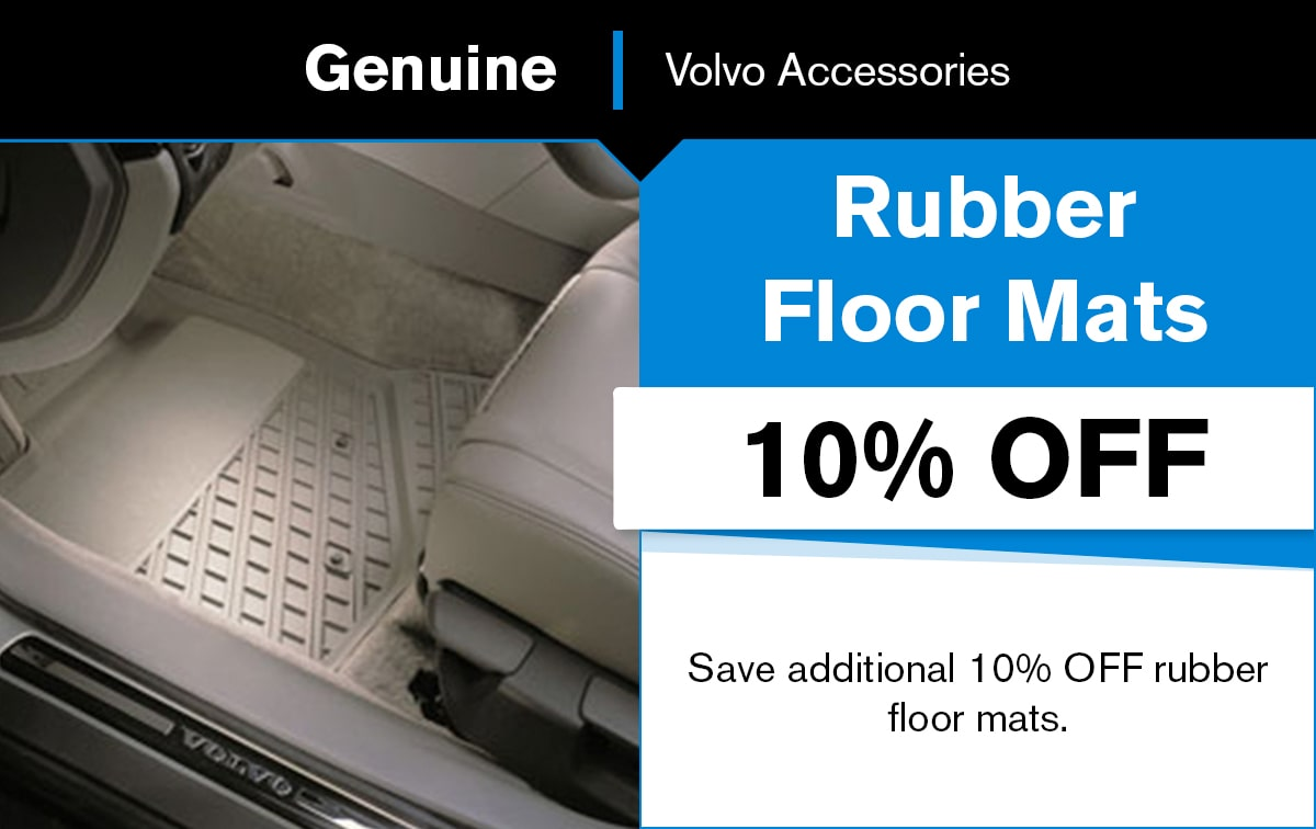 Volvo Rubber Floor Mats Special Coupon