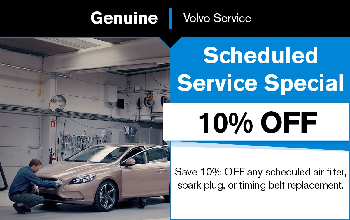 Volvo Scheduled Service Special Coupon