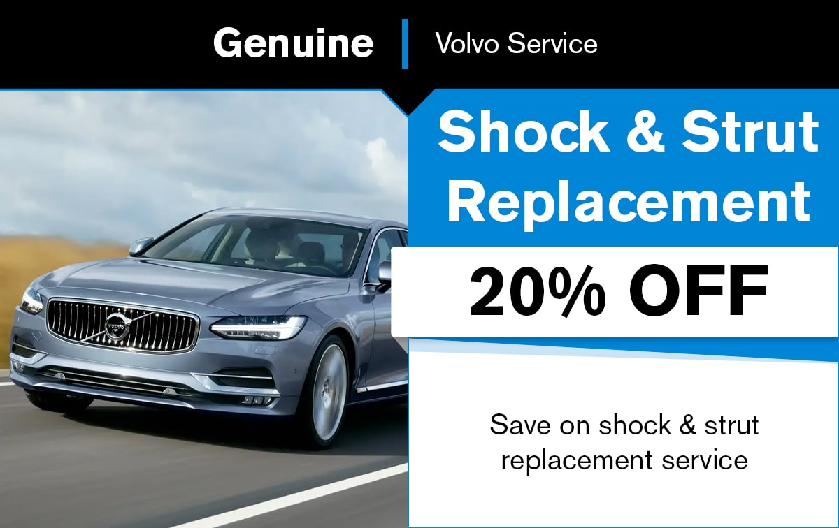 Volvo Shock & Strut Replacement Service Special Coupon