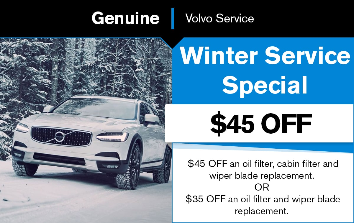Volvo Winter All Service Special Coupon