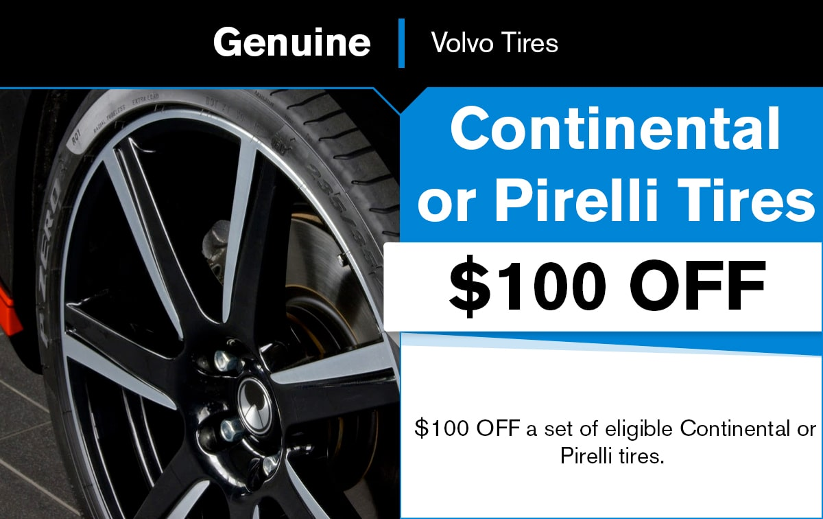 Volvo Tire Special Coupon