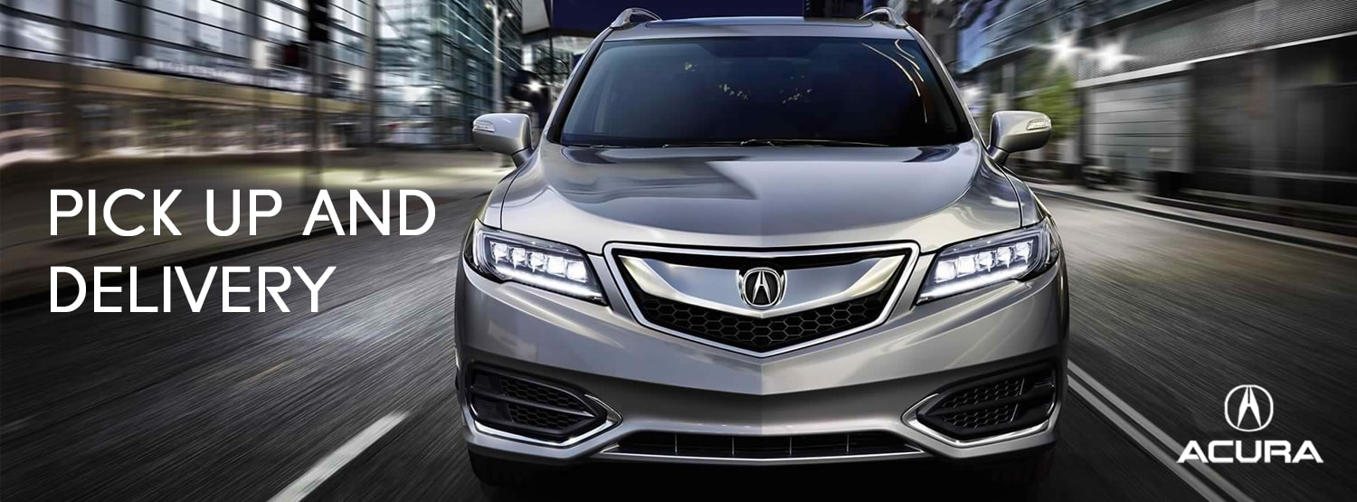 Mile High Acura Pick Up & Delivery Service