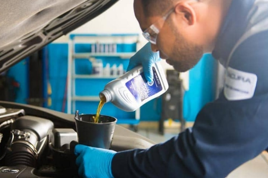 Acura Diesel Engine - Full Synthetic Oil Change Service Special Coupon