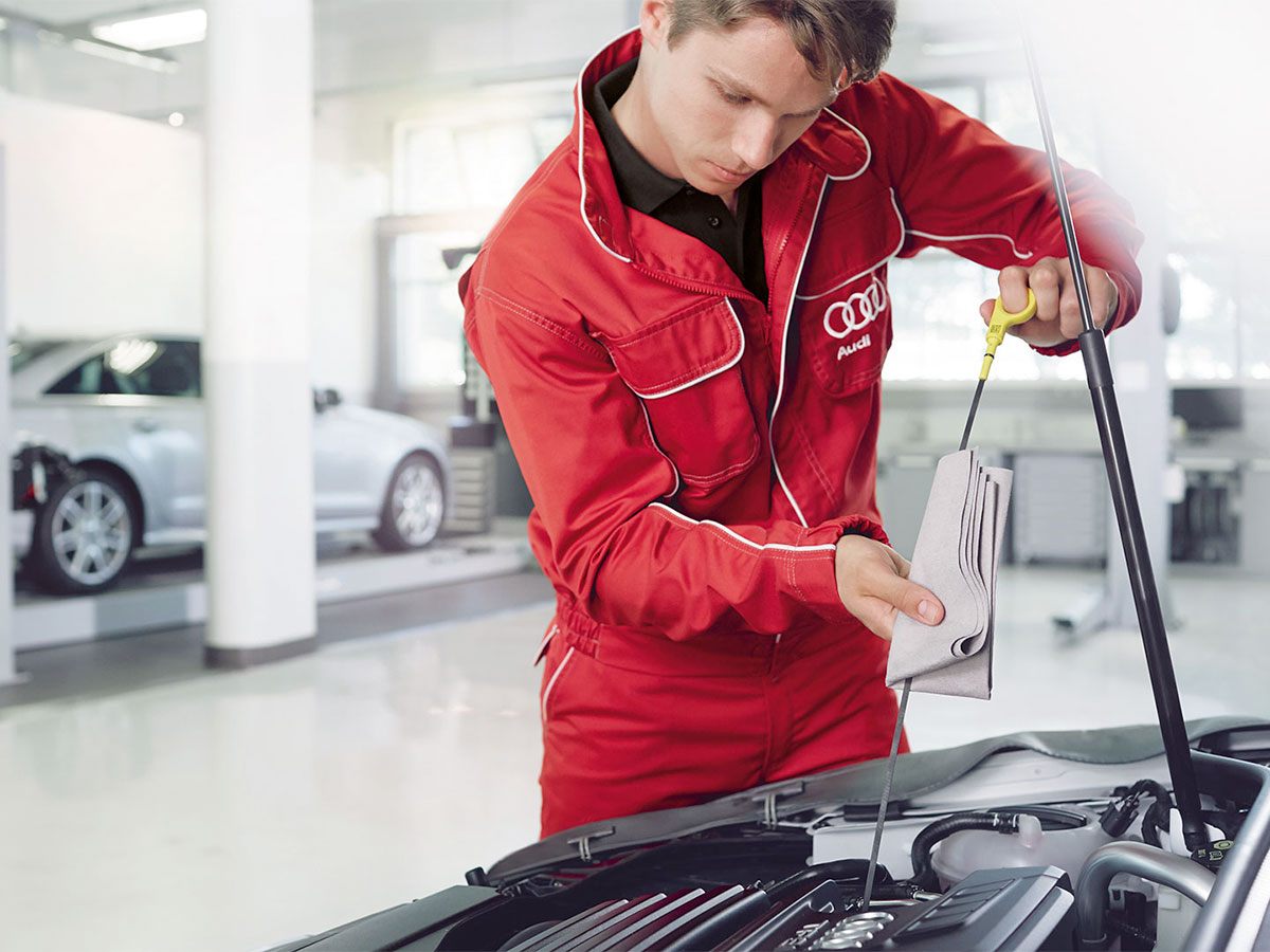 Audi Full Synthetic Oil Change Service