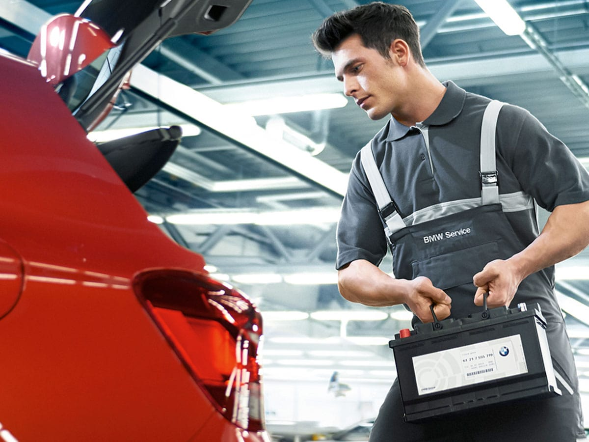 BMW Battery Replacement Service Special Coupon