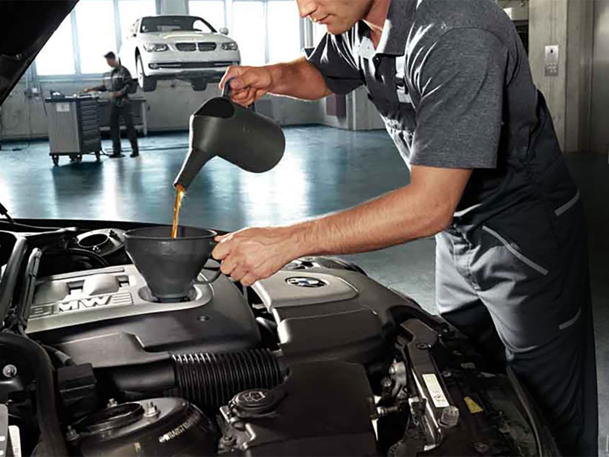 BMW Synthetic Oil Change