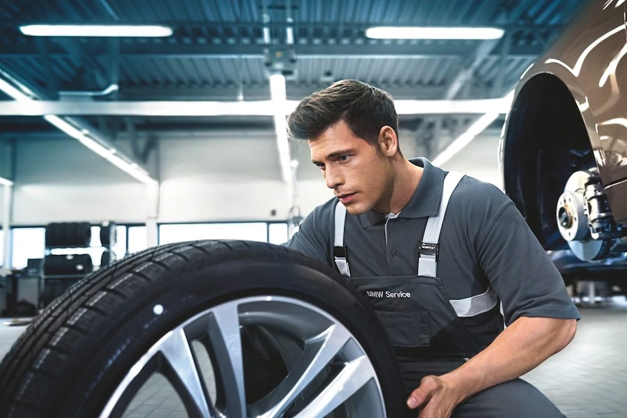 BMW Tire Department