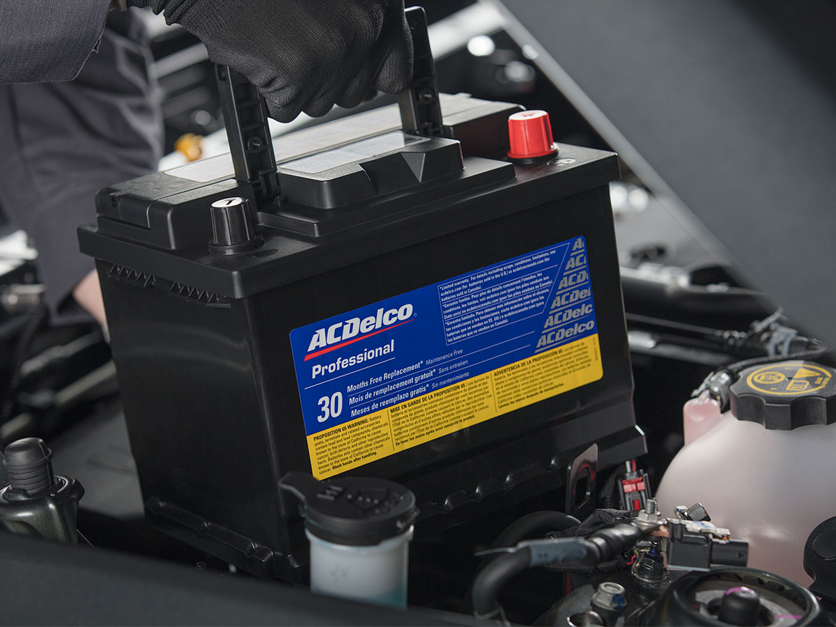 Chevrolet, Buick, GMC Battery Inspection Service Special Coupon