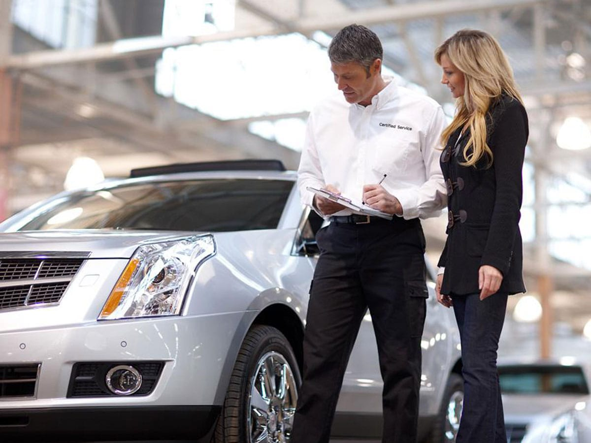 Cadillac Multi-Point Inspection Service
