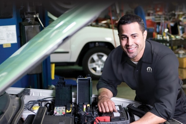 Chrysler, Dodge, Jeep, Ram Battery Service Service Special Coupon