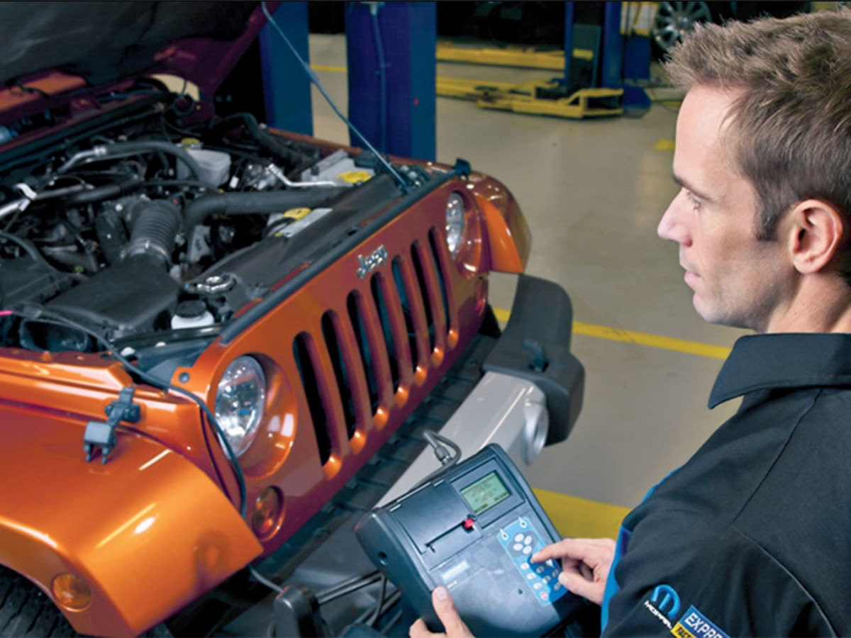 Chrysler, Dodge, Jeep, Ram Battery Inspection Service Special Coupon