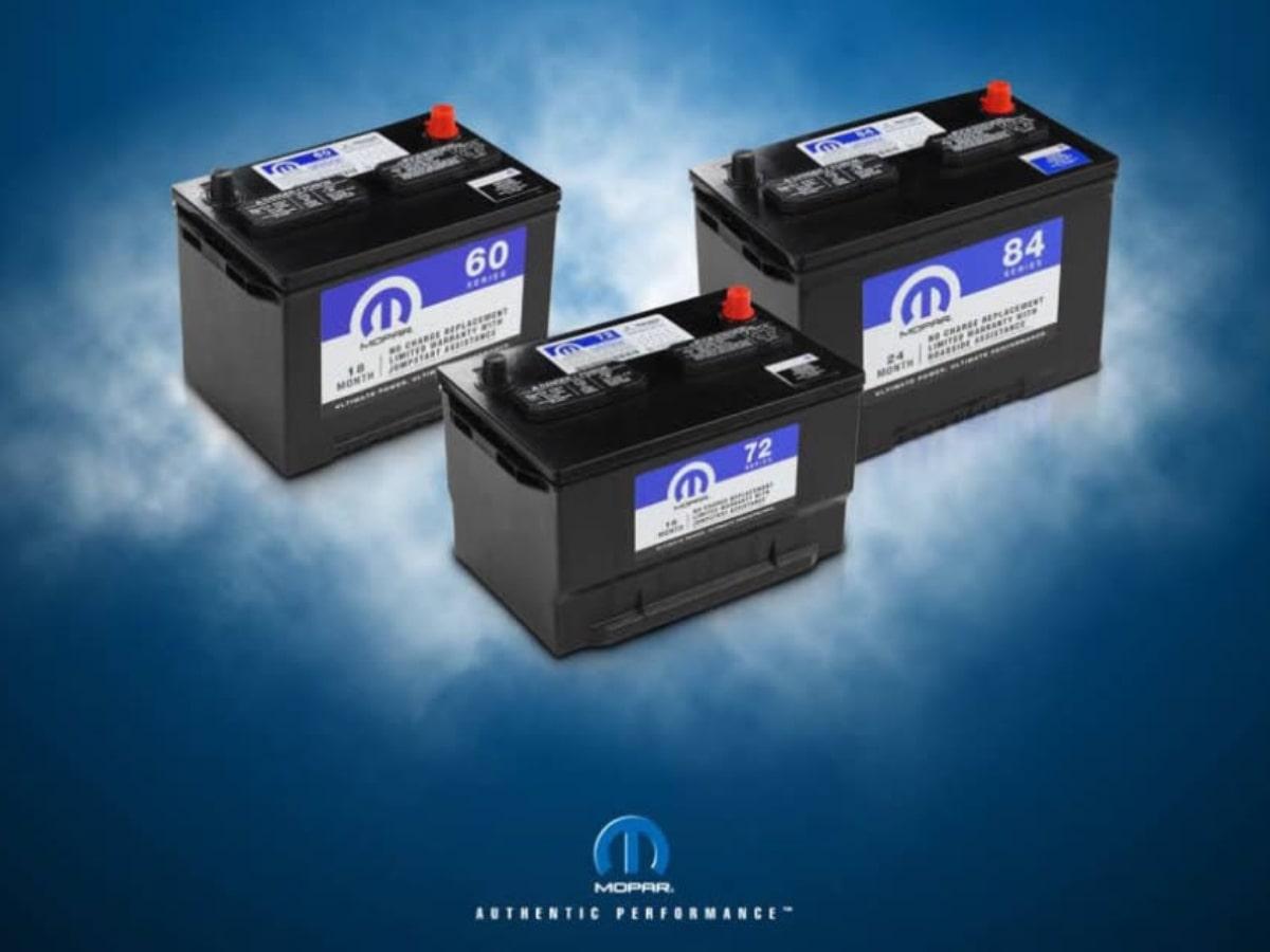 MOPAR Battery Services