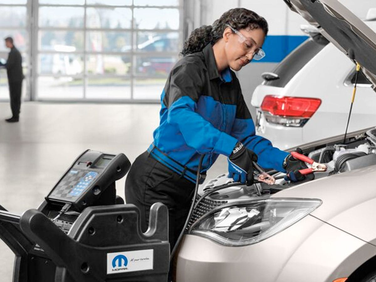 Chrysler, Dodge, Jeep, Ram Battery Replacement Service Special Coupon