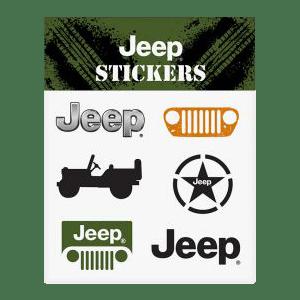 Genuine Jeep Window Decals