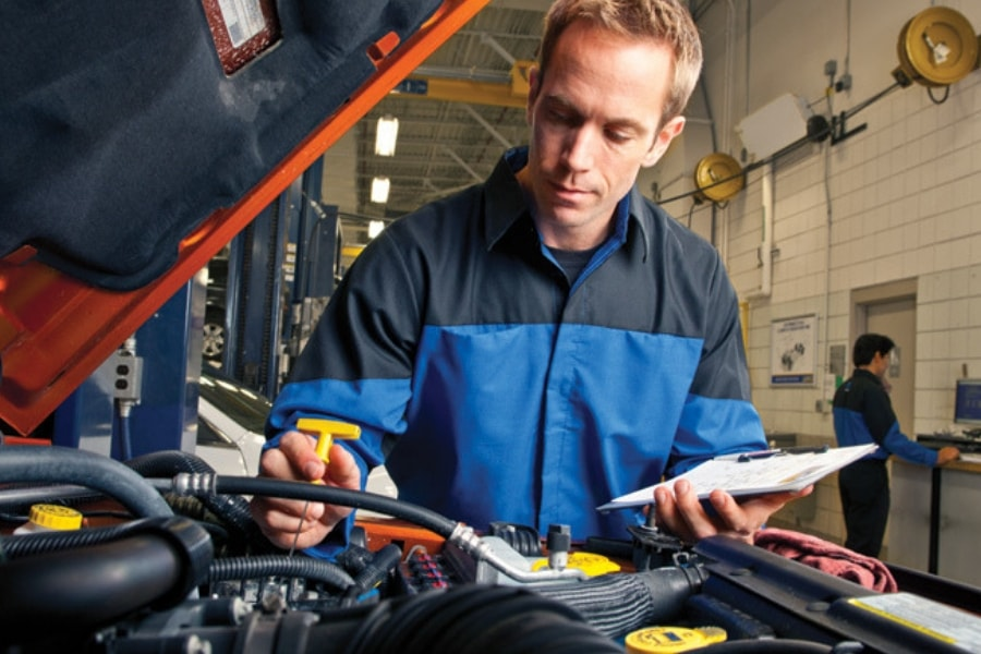 CDJR Multi-Point Vehicle Inspection Service