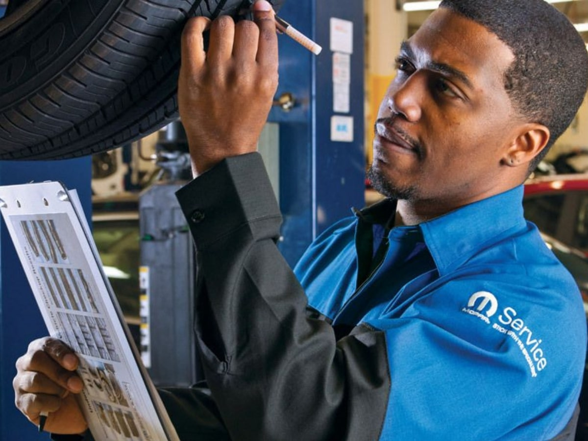 Mopar Tire Rotation Service Special Coupon