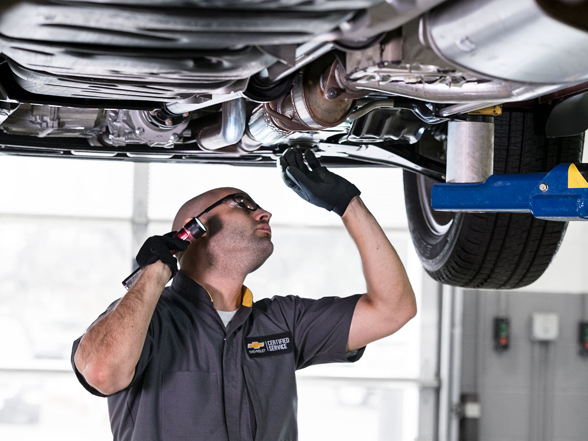 Chevrolet Multi-Point Vehicle Inspection Service