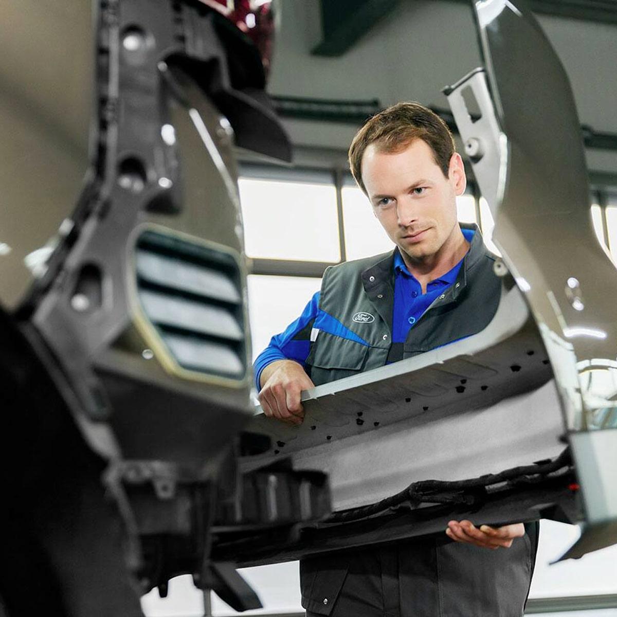 Ford Aluminum Body Repairs