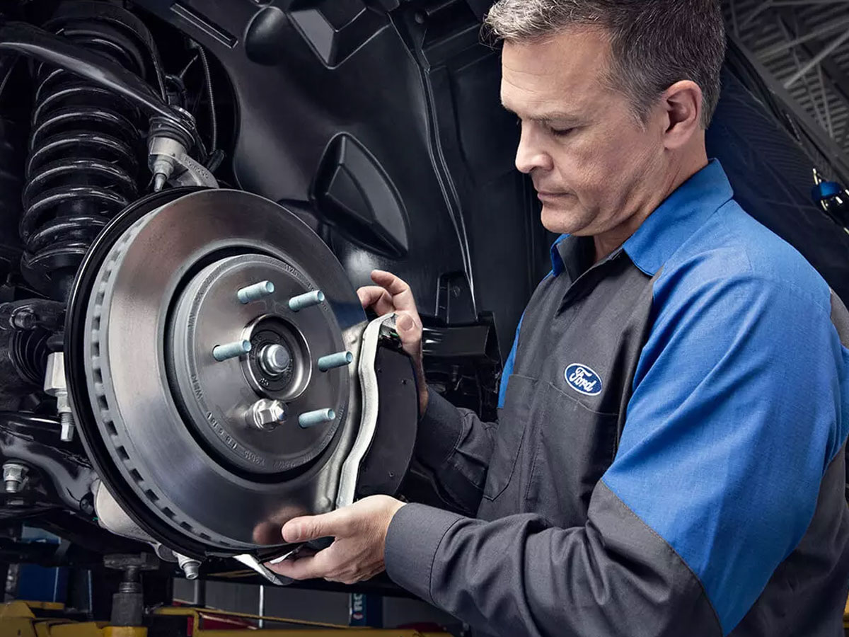 Ford Complete Brake Service Special Coupon