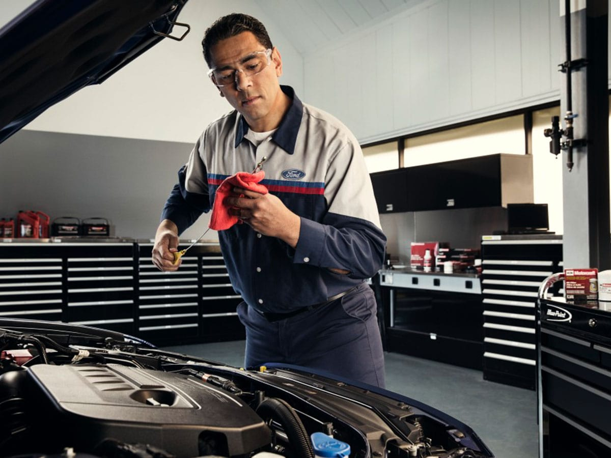 Semi-Synthetic Oil Change Service