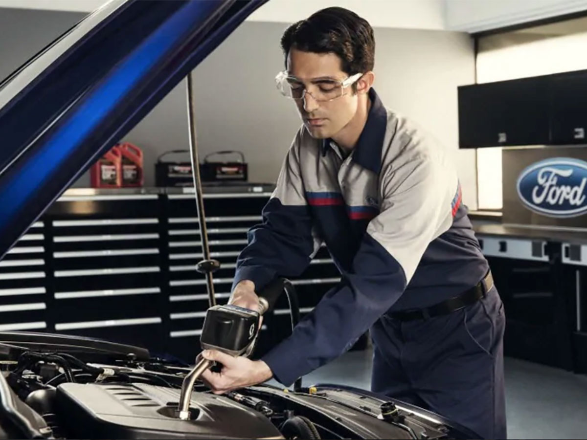 Ford Full-Synthetic Oil Change Service Special Coupon