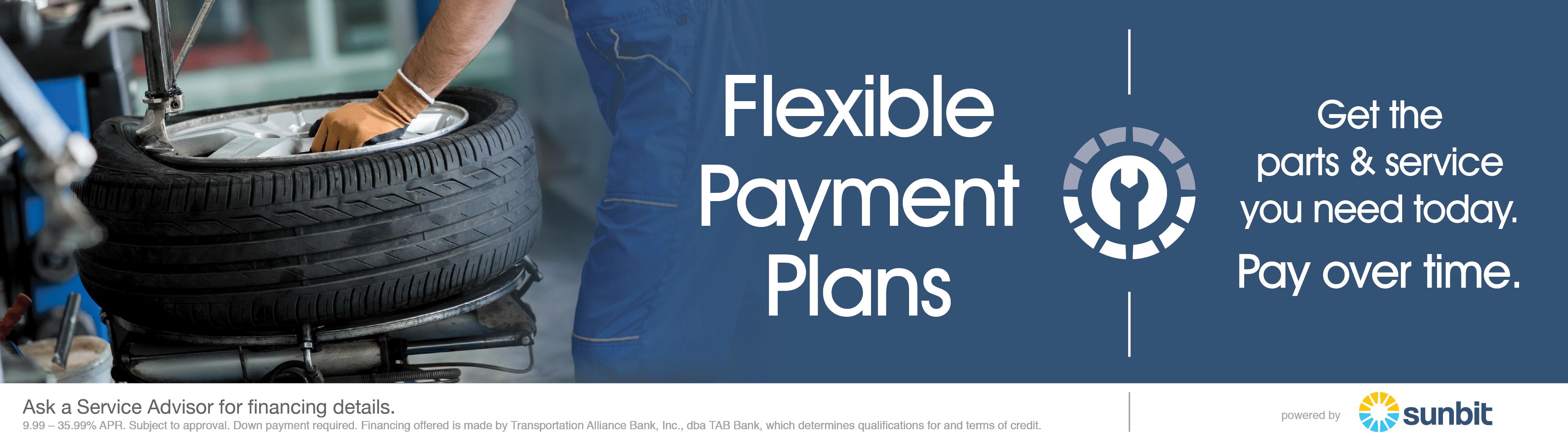 Sunbit Payment Plans