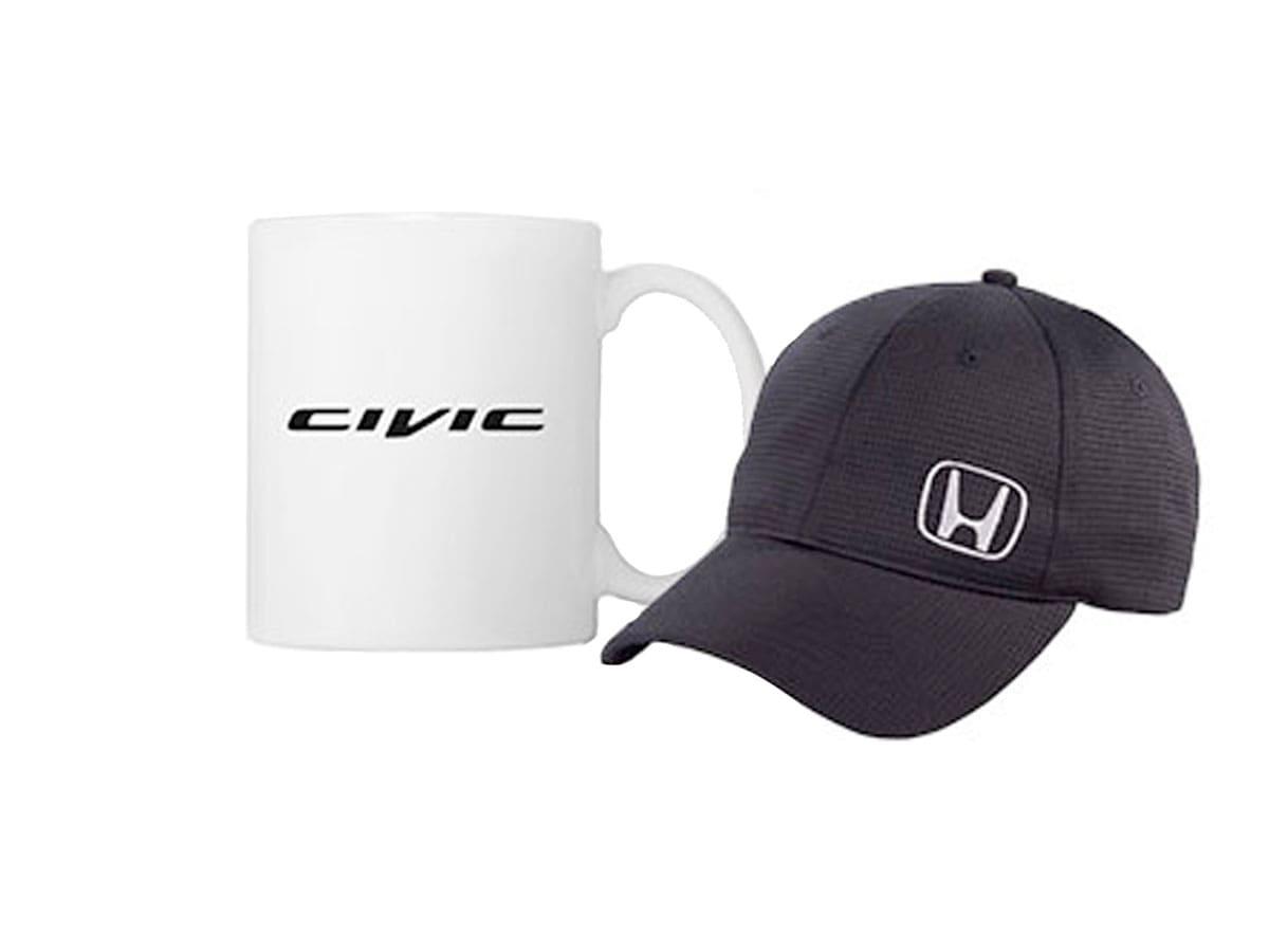 Honda Baseball Cap or Travel Mug Service Special Coupon