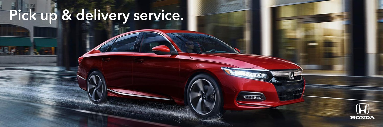Vern Eide Honda Pick Up & Delivery Service