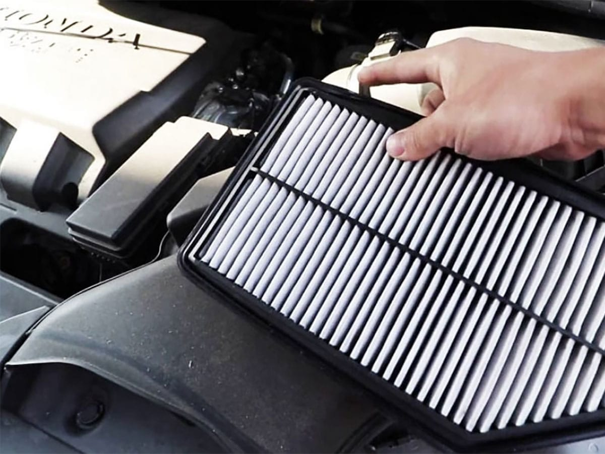Honda Engine Air Filter Replacement Service