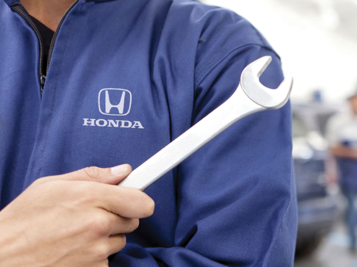 Honda Service Department