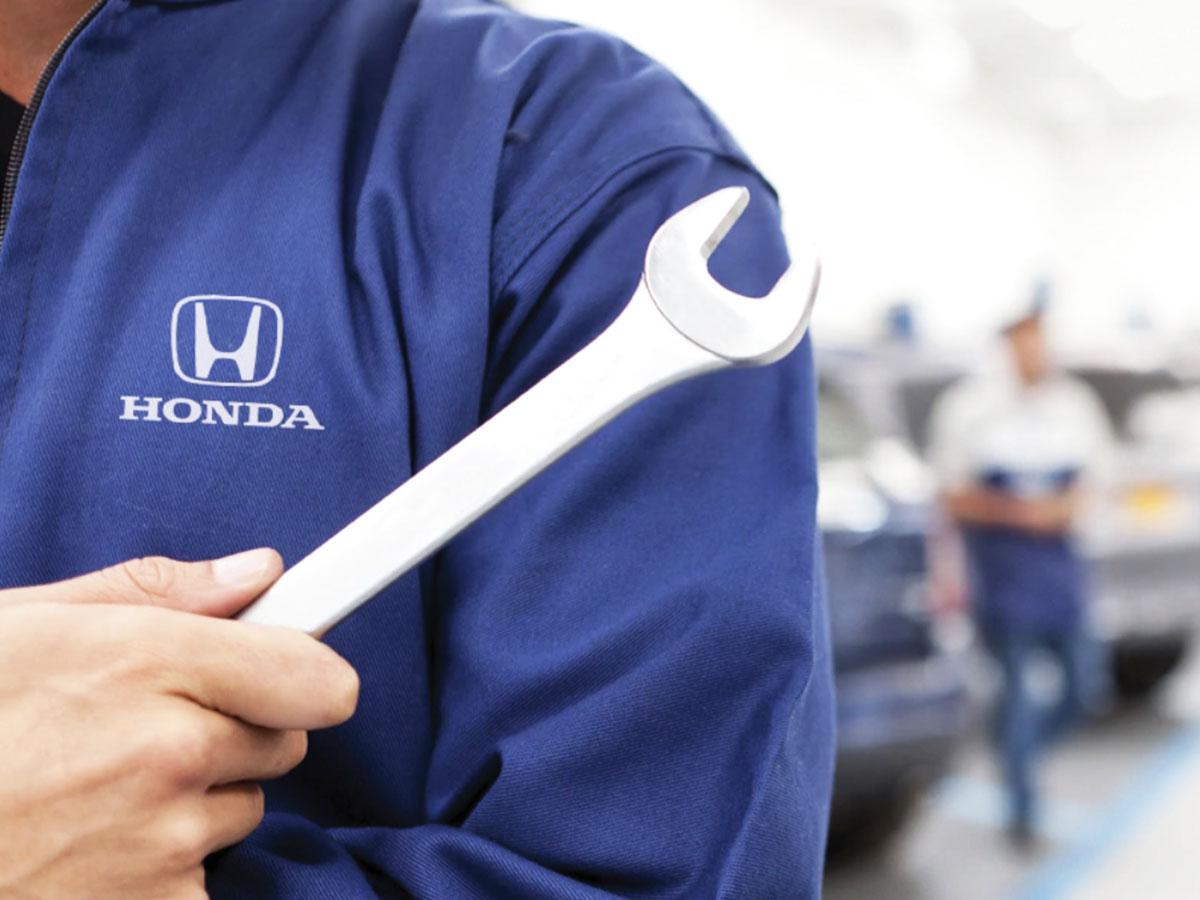 Honda Service Department