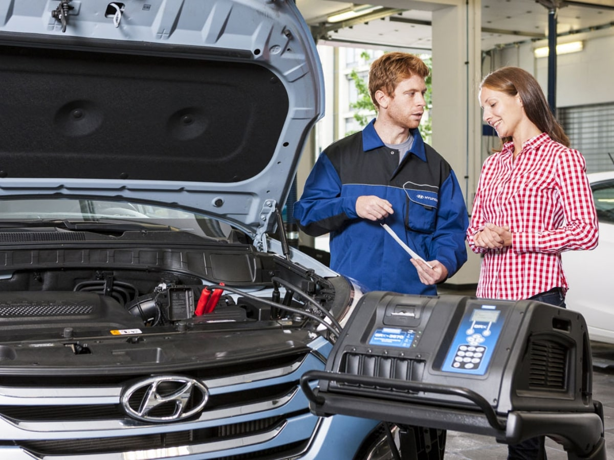 Hyundai Computerized Battery Inspection Service Special Coupon