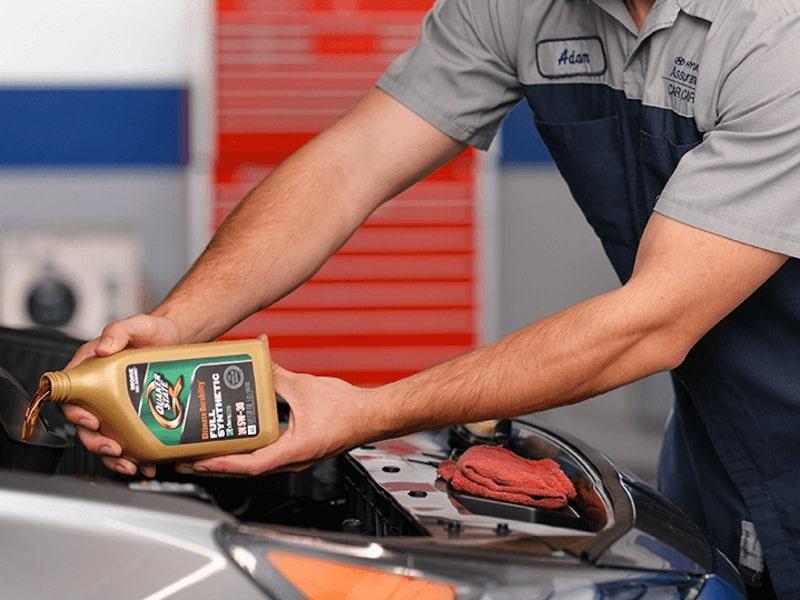 Hyundai Oil Changes Services