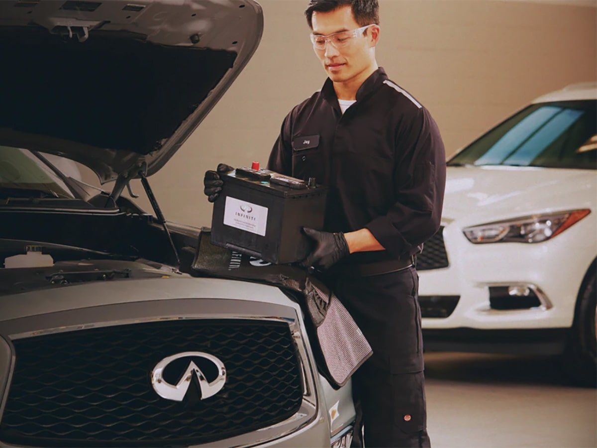 INFINITI Computerized Battery Inspection Service Special Coupon