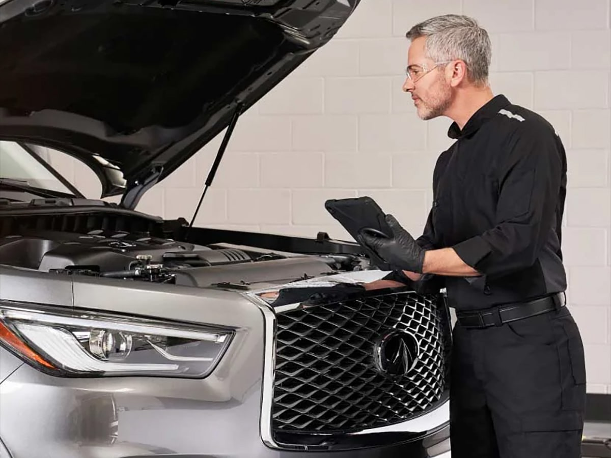 INFINITI Multi-Point Inspection Service Special Coupon